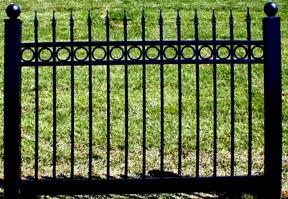 Wholesale Nationwide Supplier Black Vinyl Fences Black