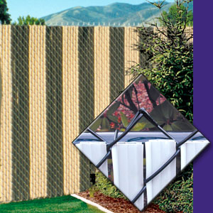 slats chain link privacy