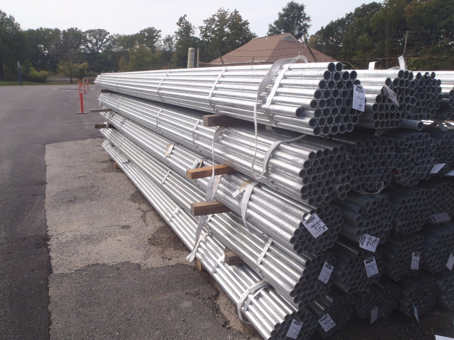 Galvanized Pipe & Posts Wholesale  Galvanized Fence Supplies