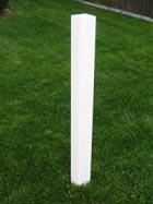 Vinyl Fence Post Mount No Dig System